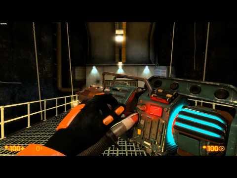 Black Mesa weapon showcase (2015 Steam version)
