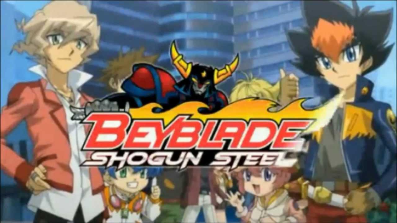 Cartoon Fall Wallpaper Beyblade Shogun Steel English Opening Youtube