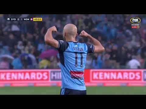 Sydney FC VS Western Sydney Wanderers Round 21 2017/18
