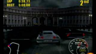 Supercar Street Challenge Ps2 gameplay