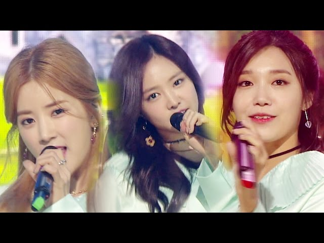 《ADORABLE》 Apink (에이핑크) - Only one (내가 설렐 수 있게) @인기가요 Inkigayo 20161023