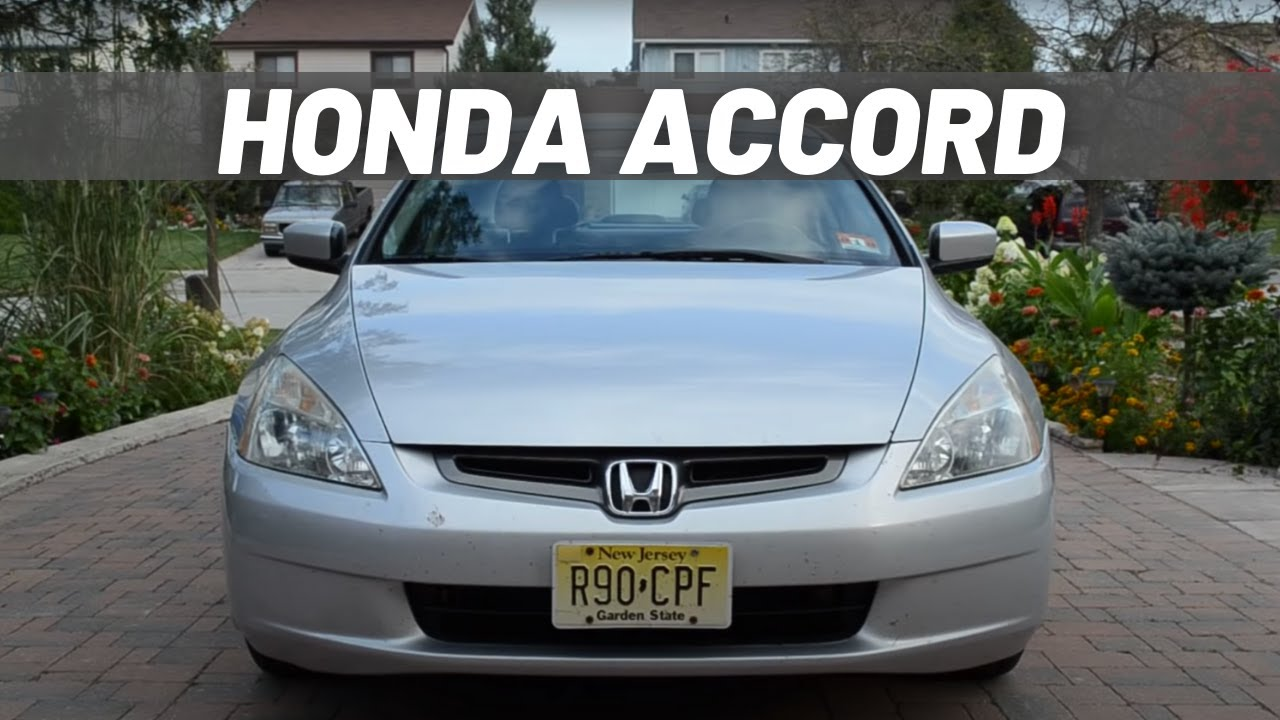 2003 honda accord ex l v6 walkaround start up youtube. Black Bedroom Furniture Sets. Home Design Ideas