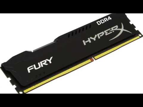 Оперативная память HyperX DDR4-2666 8192MB PC4-21300 (Kit of 2x4096) Fury Black (HX426C15FBK2/8)