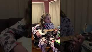 Eleanor playing her Ukulele!