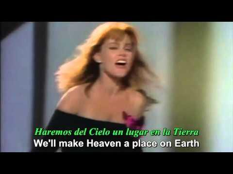 BELINDA CARLISLE - Heaven is a place on Earth (lyrics & subtítulos)
