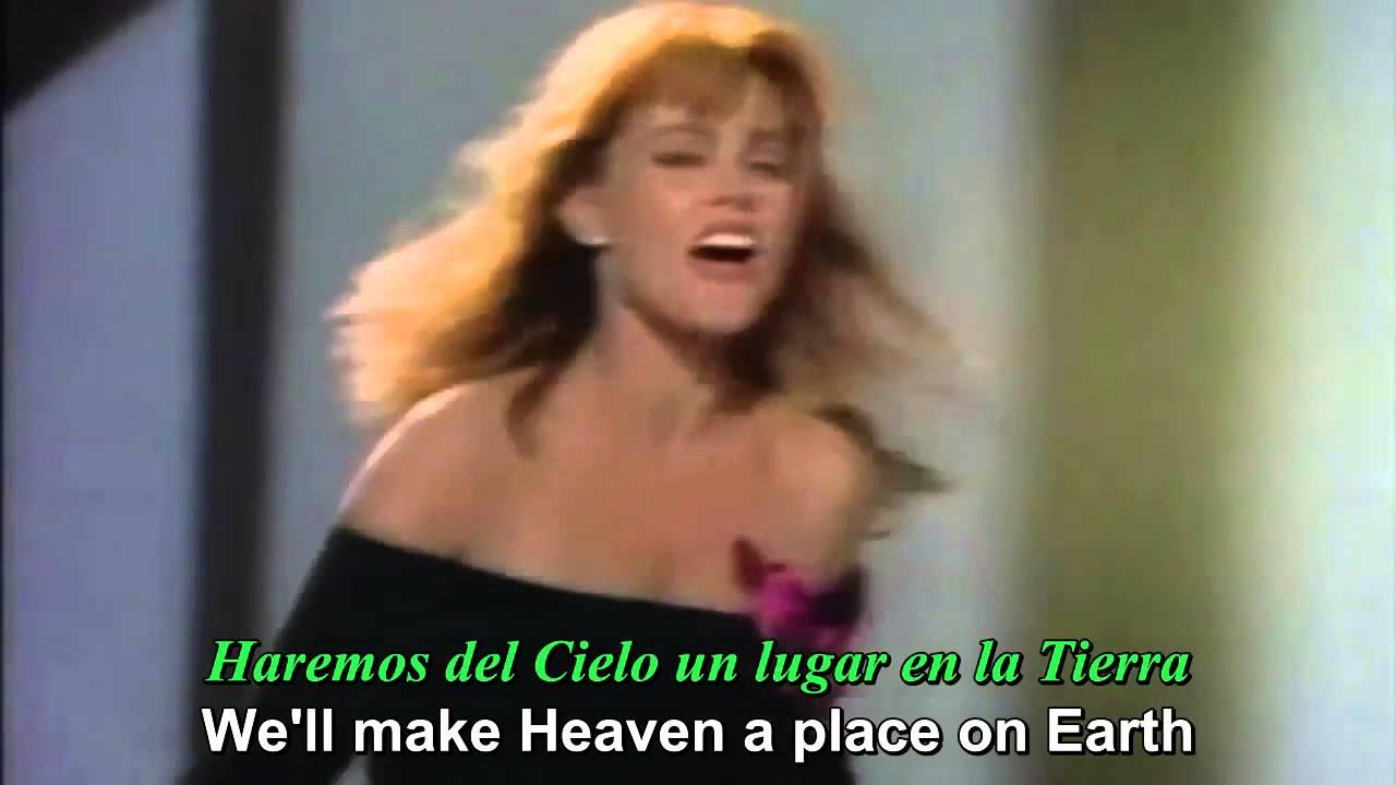 youtube belinda carlisle heaven is a place on earth