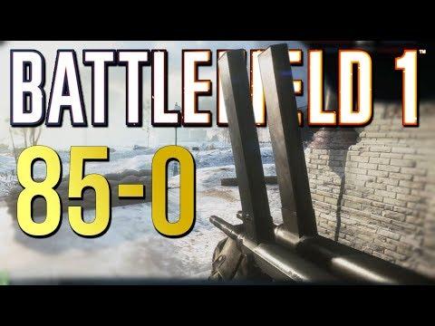 Battlefield 1: 85-0 Flawless Elite Killstreak - Xbox One X Multiplayer Gameplay