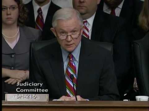Senator Jeff Sessions Questions Judge Sonia Sotomayor