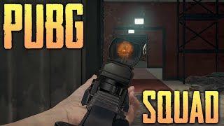 PUBG SQUADS - MILITARY BASE + BRIDGE BLOCK (Playerunknown's Battlegrounds)