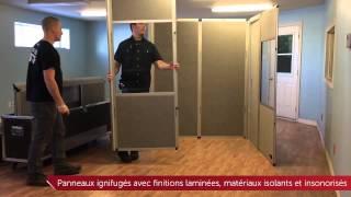 Cabine d'interprétation simultanée pour conférences internationales MV-BOOTH-8005