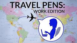 Travel Pens: Work Edition