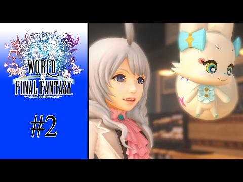 [Directo] World of Final Fantasy (Gameplay comentado Español) - Parte 2 - (Voces Japonés)