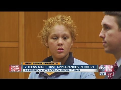 Teens Out Of Control: 15 and 13 Year-old Suspects Face Judge For Beating Elderly Man