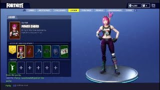 Fortnite -NEW ' Power Chord Skin and Anarchy Axe (Display of Axe Sound)
