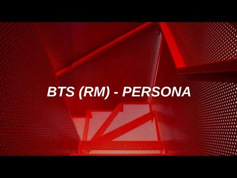 BTS (방탄소년단) -  'PERSONA' Easy Lyrics