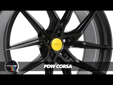 PDW All-new Advanced Design Light-Weight Wheel I PDW CORSA I PDW Wheels