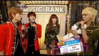HyunA B.A.P MC BTOB  Backstage Waiting Room MUSIC BANK Thumbnail