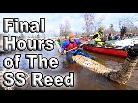 River Race In The Reed boat And Destroyed  (87 days episode 27)