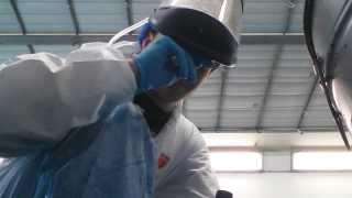 видео Спецодежда для покраски в покрасочной камере