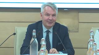 Talk By H.e. Pekka Haavisto On Africa And Great Power Politics — Views From Europe And India