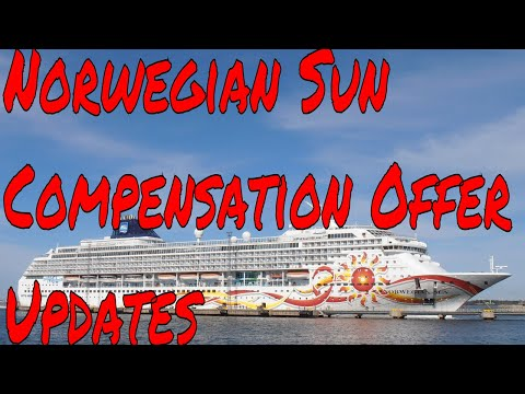 Norwegian Sun Compensation Offer Update Plus Travellers Missing Out On Free Travel Insurance!