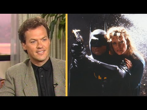 Batman: Michael Keaton Says 'It's a Very Sexy Movie' in 1989 Interview (Flashback)