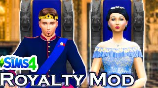 ROYALTY MOD | The Sims 4: Mod Review