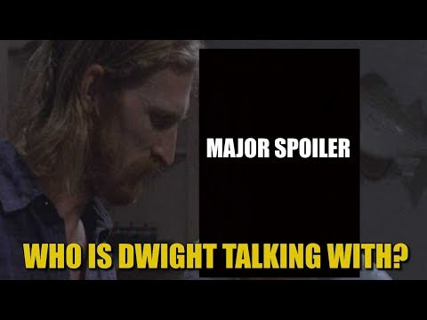 The Walking Dead Season 8 Episode 15 Spoiler - Who Is Dwight Talking With In This Spoiler Picture?
