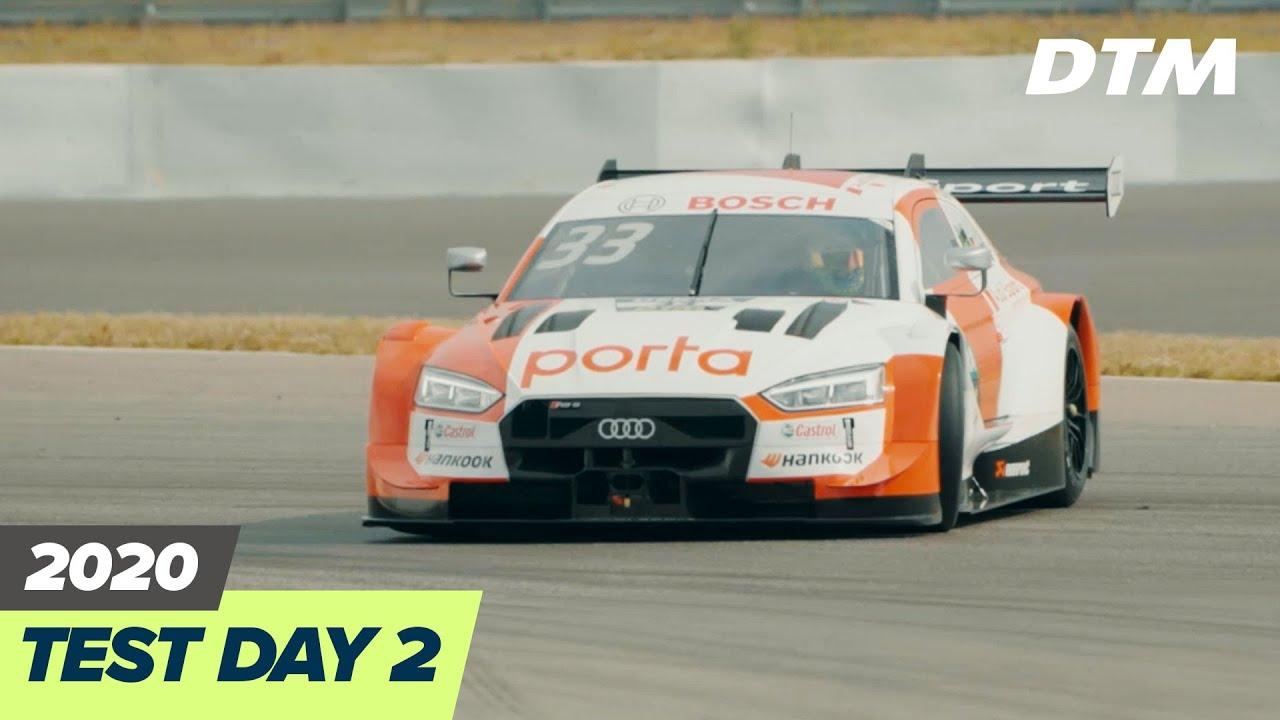 Day 2 - DTM Test 2020 at Nürburgring