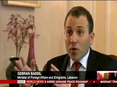 FM Gebran Bassil interview on BBC HARDtalk