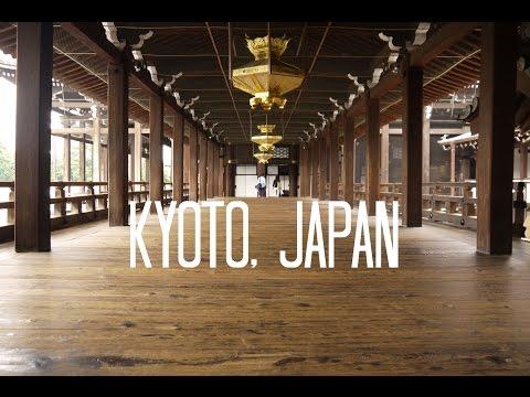 A Walking Tour of Kyoto