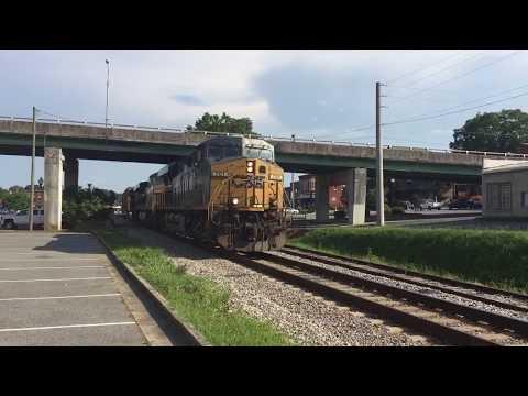 CSX Mixed Freight w/Cryo-Trans-Cartersville, GA-July 11, 2017 ©