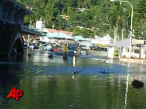 Powerful quake, tsunami hit Samoa, American Samoa   Tsunami hits Samoa, American Samoa   News com au