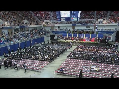 USA Celebrates 50th year of commencement, students talk paying for college