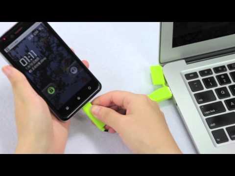 CARD KC5 創意設計 USB傳輸線 辦公室必備