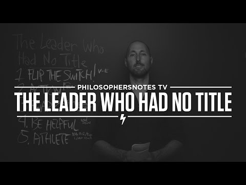 pntv:-the-leader-who-had-no-title-by-robin-sharma