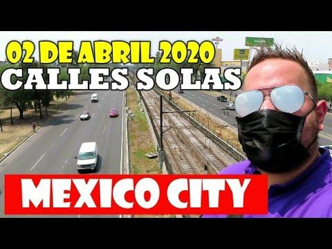 ASI LUCEN LAS CALLES DE LA CIUDAD DE MEXICO