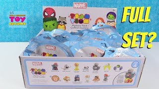 Marvel Tsum Tsum Series 4 Mystery Stack Pack Disney Toy Review   PSToyReviews