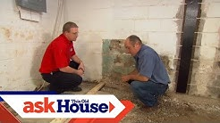 How to Install a Basement Bathroom | Ask This Old House