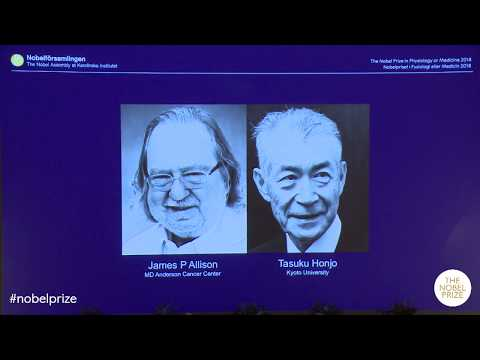 Announcement of the Nobel Prize in Physiology or Medicine 2018