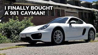 I Finally Bought a 981 Porsche Cayman!