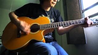 Practicing Electric Guitar tunes with Acoustic Guitar Vol.1 Perform...