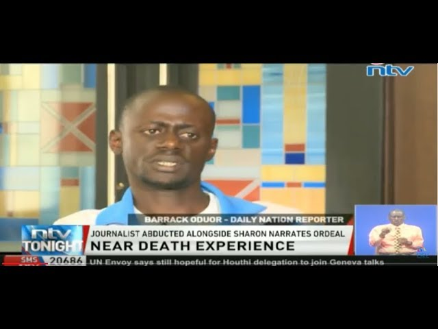 Journalist abducted alongside Sharon Otieno narrates ordeal