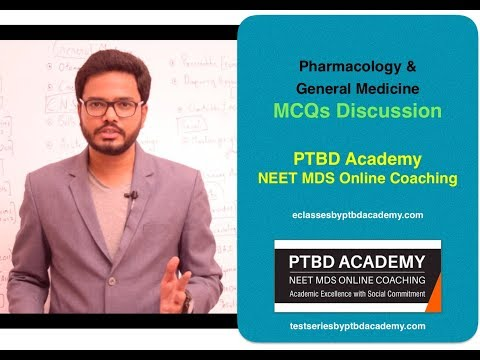 Pharmacology / General Medicine MCQs Discussion
