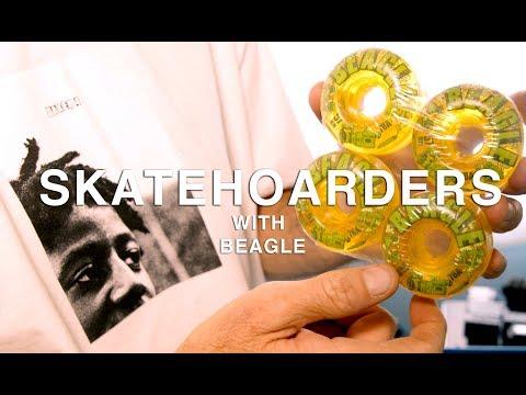 Baker Skateboard&39;s legendary filmer Beagle&39;s skate collection  SkateHoarders   Season 2 Ep5