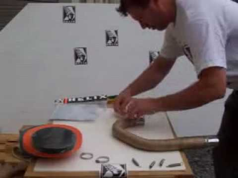 How to Wrap your Exhaust Pipes - YouTube