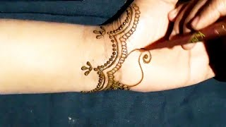 New Bharwa Dulhan Mehndi Design For Hand 2019
