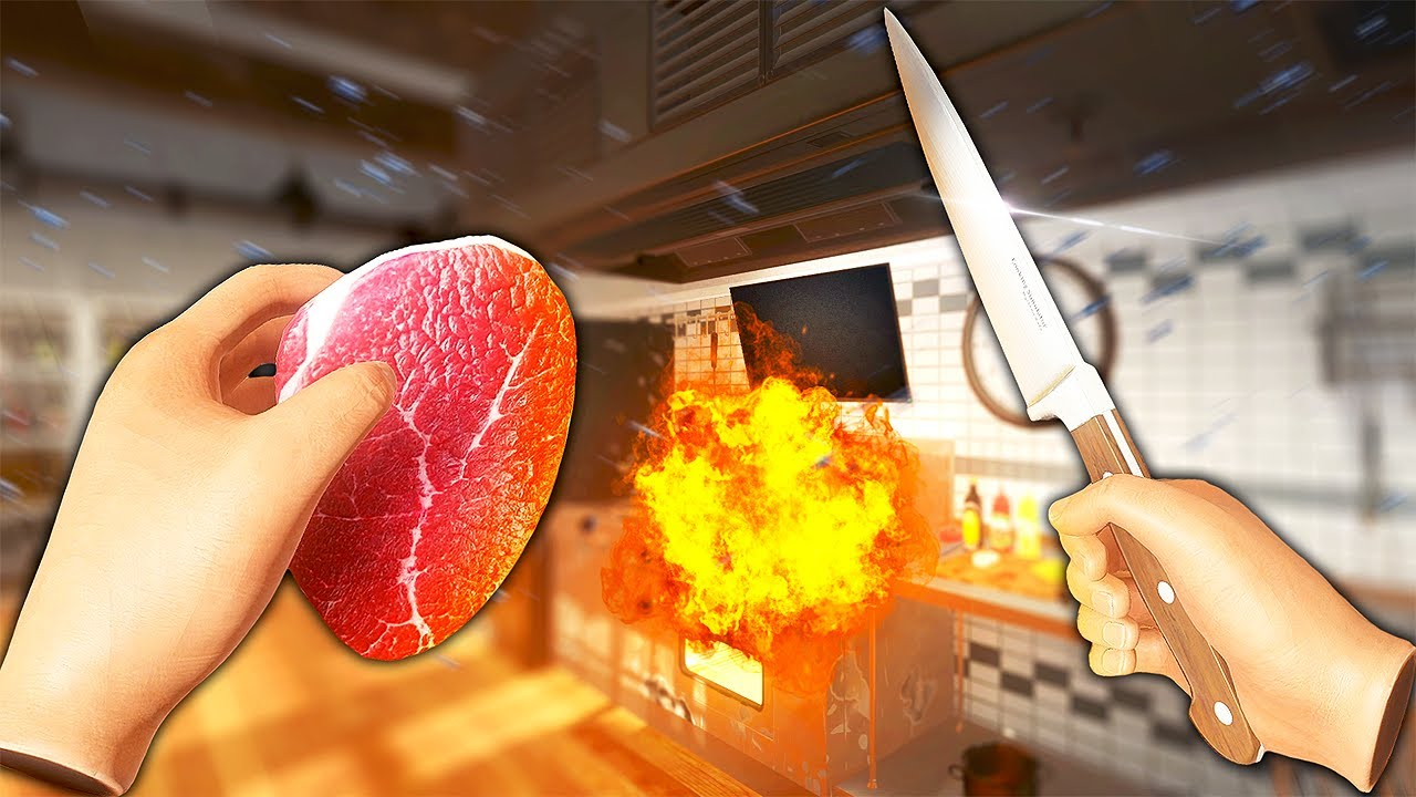 My Kitchen EXPLODED While Cooking - Cooking Simulator VR Gameplay