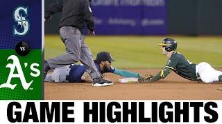 Mariners vs. A's Game Highlights (9/22/21) | MLB Highlights
