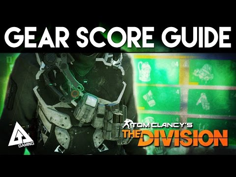 "The Division Gear Score Guide - ""How To Get Max Gear Score"""